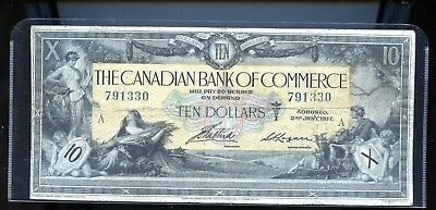 1917 Canadian Bank of Commerce $10 F  DCW22