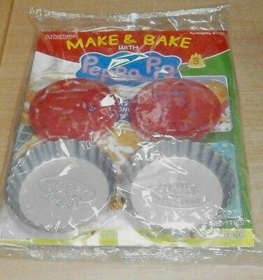 Make & Bake with Peppa Pig Partwork Issue #3 + 2 Sponge Pans & Stencils