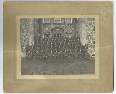British Soldiers Officers & Men Vintage Photograph 1930's by Donovan of Brighton