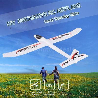 FX-707 Wingspan 1210mm Hand Throwing Glider Fixed Wing Sticker RC DIY Airplane