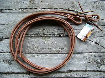 Reins - Harness Leather Water Loop (5/8 Inch) by Schutz Brothers