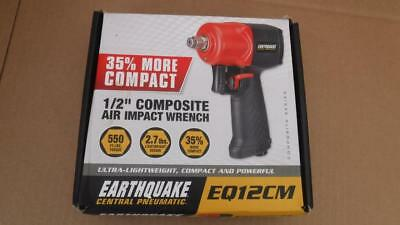 """NEW - Central Pneumatic Earthquake 1/2"""" Composite Air Impact Wrench EQ12CM ^"""