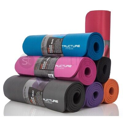Yoga Mat Gym Fitness Exercise Eco-Friendly Foam 6mm Non-Slip Pilates Physio Mats