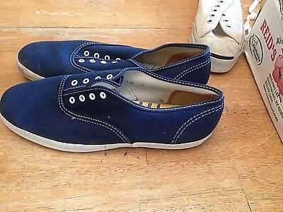 "1960's. USA Made, KEDS ""Champion"" Navy Blue Canvas, for Women, sz. 8'S"