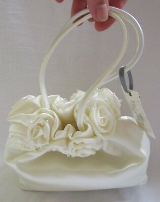 NEW Sophie Gray for BHS Ivory Bridal Purse Dolly Bag Handbag RRP £12.00