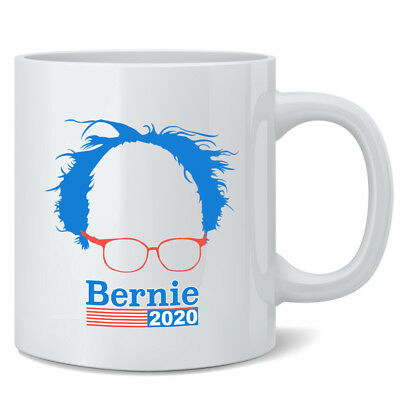 Bernie Sanders 2020 Hair and Glasses Campaign 12 oz Coffee Mug Coffee Mug 3x5