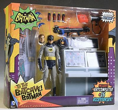 Batman Classic Tv Serie To The Batcave 6 Inch Action Figur Mattel Neu Misb Ovp