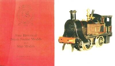 Live Steam Engines Locomotives, Carette, Marklin, Bing, auction catalogue 1970
