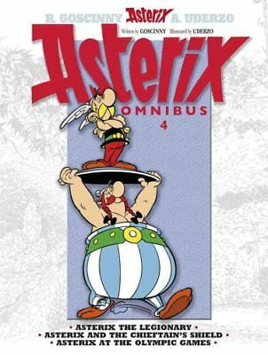 Asterix: Omnibus 4 Asterix the Legionary, Asterix and the Chief... 9781444004878