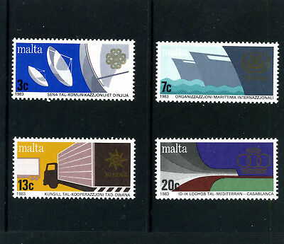 MALTA - 1983 - ANNIVERSARIES AND EVENTS - SET OF 4 - SG 714 to 717 - MNH