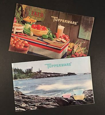 Lot of Two TUPPERWARE CATALOGS 1968-1969, Very Good Conditions, 48 Pages Each