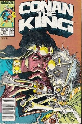 Conan The King  #53 1989 ''night War'' -The Barbarian- Owsley/ Isherwood..fn/fn-
