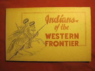 1958 Book Indians Of The Western Frontier Paintings By George Catlin
