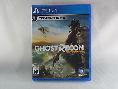 Tom Clancy's Ghost Recon: Wildlands PlayStation 4 PS4 Video Game, Brand New!