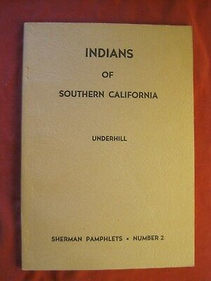 Vintage Book Indians Of Southern California Sherman Pamphlets #2