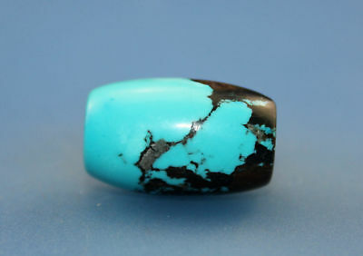 23*15 mm Antique Undressed Dzi turquoise old Bead from Tibet **Free shipping**