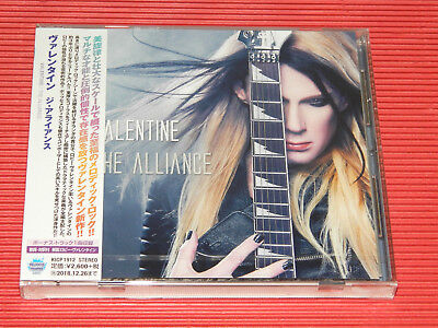 2018 Japan Cd Robby Valentine The Alliance With Bonus Track For Japan Only