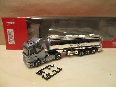 HERPA  excl.  ---   Tank  SZ     --   Sped.   FISCHINGER  ---  SCANIA