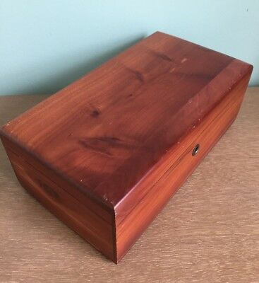 Antique Vintage WOODEN WOOD LANE CO. BOX !!