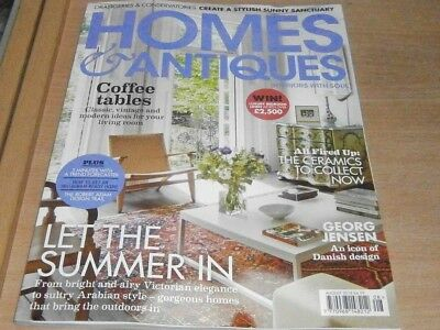 Homes & Antiques magazine Aug 2018 Victorian elegance to Arabian style & more
