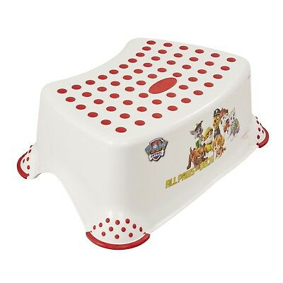 Keeeper Tritthocker mit Anti-rutsch-Funktion Paw Patrol white NEU