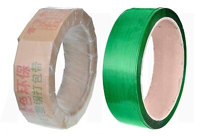 HEAVY DUTY PALLET BANDING STRAPPING 16mm WIDE STRONG ROLL