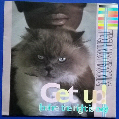 """Technotronic: Get Up (Before The Night Is Over), Single 7"""" 1990"""