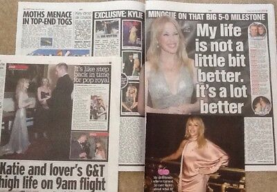 KYLIE MINOGUE 2018     new clippings
