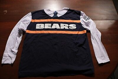 Chicago Bears Mike Ditka Dash Running Race Shirt Da Coach Womens Xl