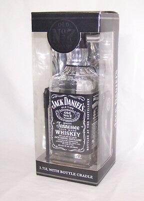 Jack Daniels 1.75 Bottle And Cradle ~ New Old Stock ~ Factory Sealed