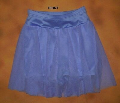 NWOT Periwinkle Booty Shorts Attached Mesh Skirt Ladies Small Adult