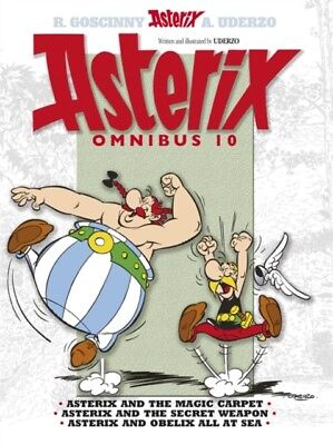 Asterix Omnibus 10: Includes Asterix and the Magic Carpet #28, As...