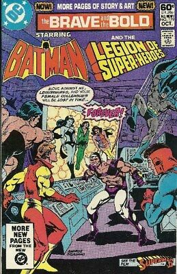 The Brave And The Bold - October, 1981 - Dc - # 179 - Legion Of Super-Heroes