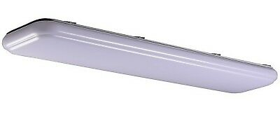 4' LED Light Fixture Honeywell 4800 Lumen Dimmable Lamp Ceiling Wall Mount
