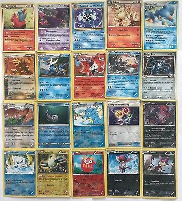 Pokemon Karten Set 20 seltene Stern Holo Common - Sammlung - Lot - Top Angebot