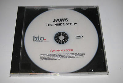JAWS: THE INSIDE STORY DVD, Promotional DVD ~ A&E, Full Documentary, 100 minutes
