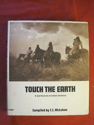 1972 Book Touch The Earth A Self Portrait Of Indian Existence