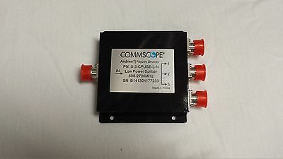 CommScope / Andrew - S-3-CPUSE-L-N - 698-2700 MHz 3-Way Splitter w/ N Females