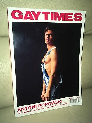 GT Gay Times Magazine May 2018 Issue Antoni Porowski Cover LGBT Gay Interest