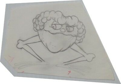 1975 The Freakies Commercial Animation Production Drawing Cereal Box character