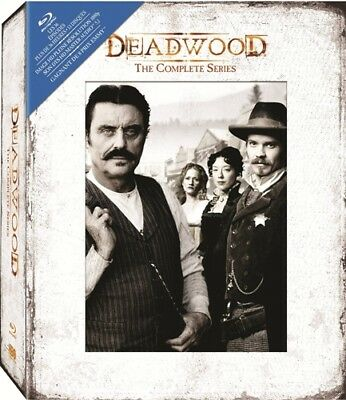 DEADWOOD THECOMPLETE SERIES New Sealed Blu-ray Seasons 1 2 3