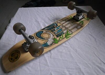 Vintage Sector 9 skateboard Longboard gulwings used but quality Cond. Can Post