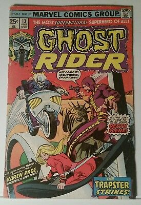 Ghost Rider # 13 - Marvel Comics - August 1975