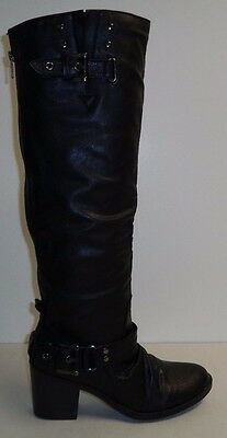 7d2dc4cb56408 STYLE & CO Size 6 M AMUSE BLACK Knee High Boots New Womens Shoes NWOB
