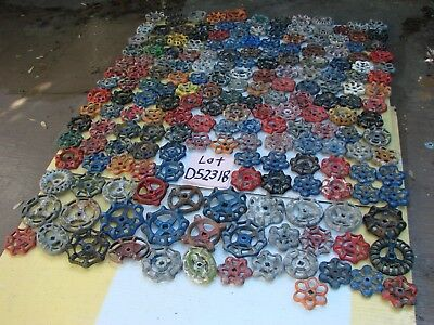Lot 201 Vintage Metal water Faucet Knobs valve handles STEAMPUNK Industrial art
