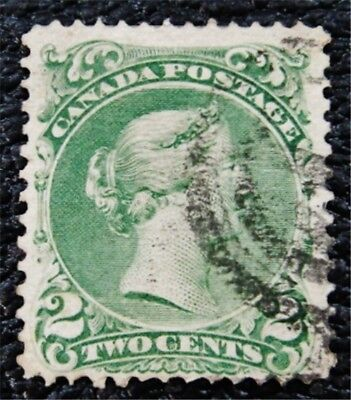 nystamps Canada Stamp # 24 Used UN$125 VF