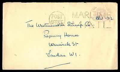 MARITIME MAIL 1940s CENSORED COVER TO WARWICK LONDON