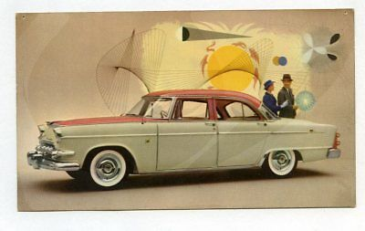 Automobile Advertising Postcard, Dodge 1955 Custom Royal 4-Door Sedan,  a31111