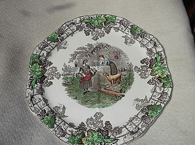Vintage Divided Section Sandwich Plated Copeland Spode Byron Series 1