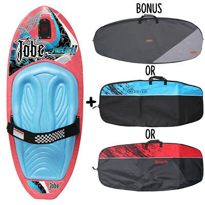 New 2018 Jobe Relic Pink Water Ski Sports Kneeboard With Bonus Carry Bag
